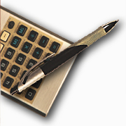 pen with calculator